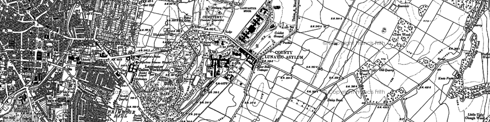 Old map of West View in 1910