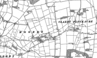 Old Map of Moorby, 1887