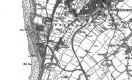 Old Map of Moorclose, 1923