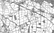 Old Map of Moorhampton, 1886