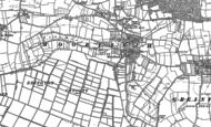 Old Map of Moorlinch, 1885