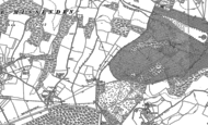 Old Map of Mop End, 1897 - 1923