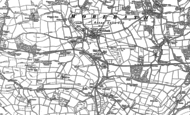 Old Map of Morebath, 1902 - 1903