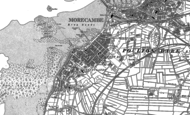 Old Map of Morecambe, 1910 - 1931
