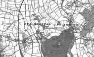 Old Map of Moreton, 1885