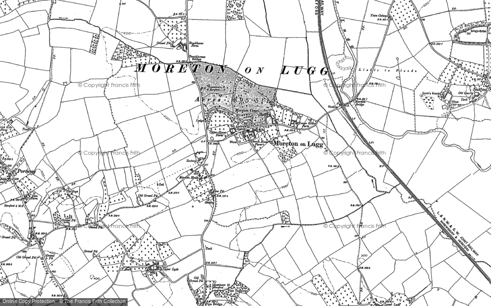 Old Maps of Moreton on Lugg - Francis Frith