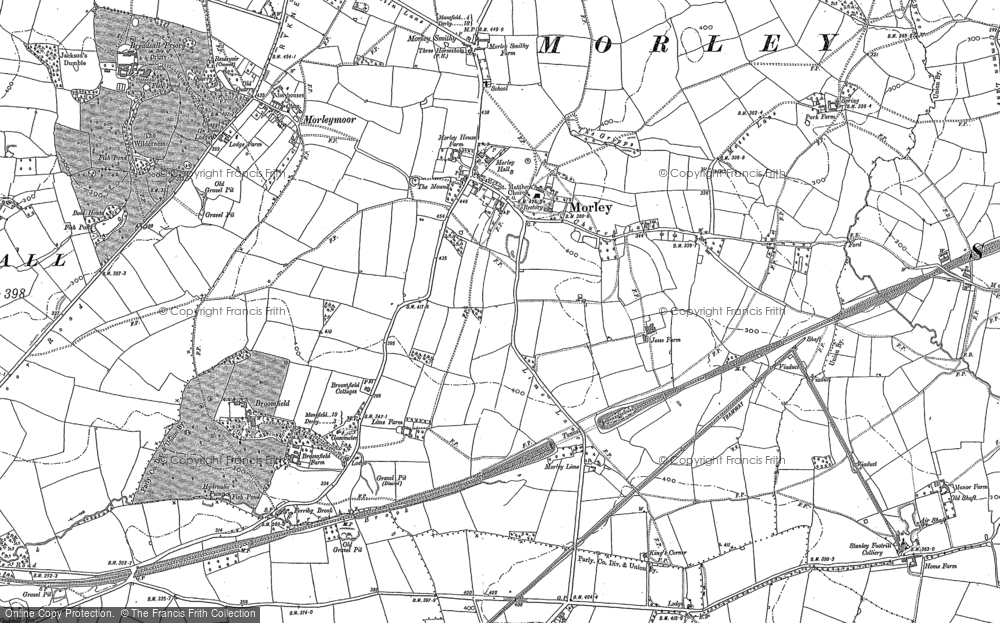 Old Maps of Morley Francis Frith