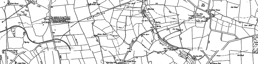Old map of Wind Mill in 1896
