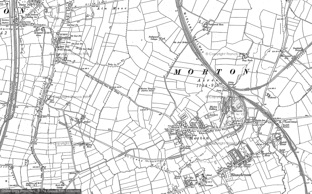 Old Map of Morton, 1877 - 1879 in 1877
