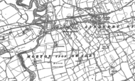 Old Map of Morton-on-Swale, 1891