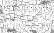Old Map of Morton Tinmouth, 1896