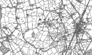 Old Map of Moston, 1897
