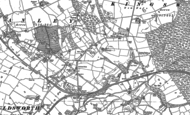 Old Map of Mouldsworth, 1897