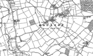 Old Map of Moulsoe, 1924