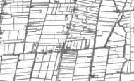 Old Map of Moulton Chapel, 1887