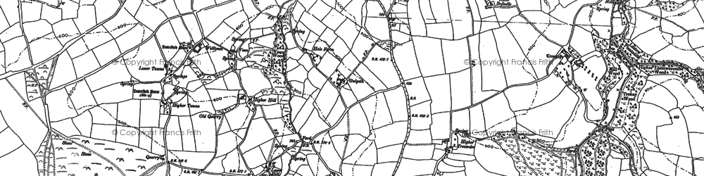 Old map of Mount in 1881