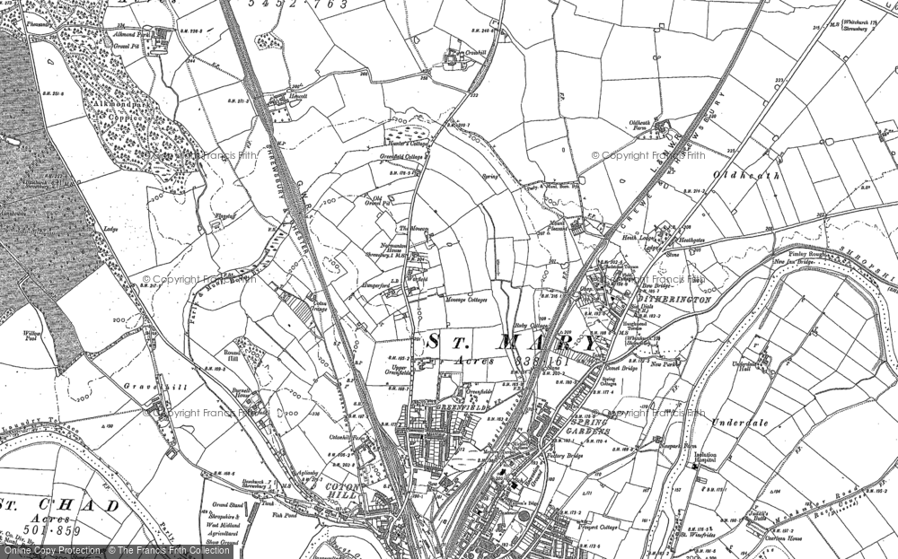 Old Maps of Mount Pleasant Francis Frith