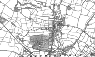 Old Map of Much Hadham, 1896 - 1919
