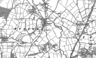 Old Map of Mudford, 1901
