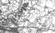 Old Map of Murston, 1896