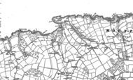 Old Map of Mwnt, 1889 - 1904