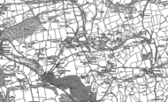 Old Map of Mwyndy, 1898