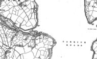 Old Map of Mylor Churchtown, 1879 - 1906