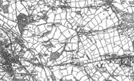 Old Map of Mynydd Isa, 1898 - 1910