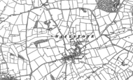 Old Map of Nailstone, 1885