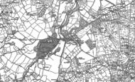 Old Map of Nanhoron, 1888 - 1899