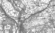 Old Map of Nantgarw, 1898 - 1915