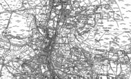 Old Map of Nantyffyllon, 1875 - 1897