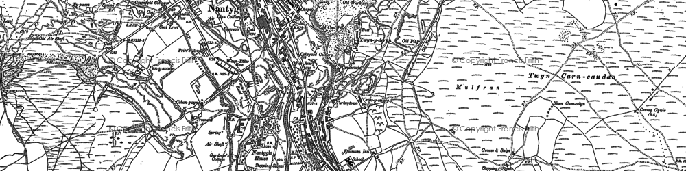 Old map of Winchestown in 1879