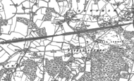 Old Map of Nately Scures, 1894