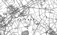 Old Map of Neatham, 1895 - 1909