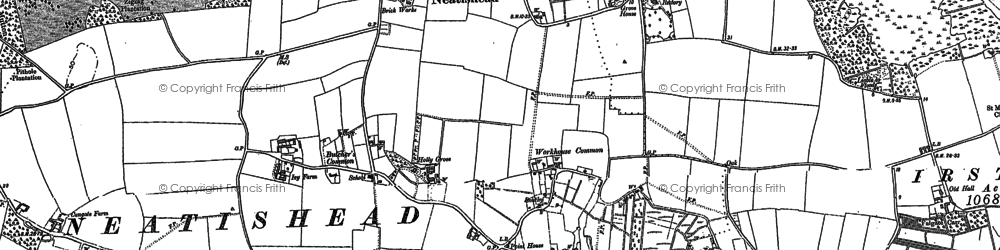 Old map of Neatishead in 1880