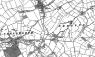 Old Map of Nedging, 1884