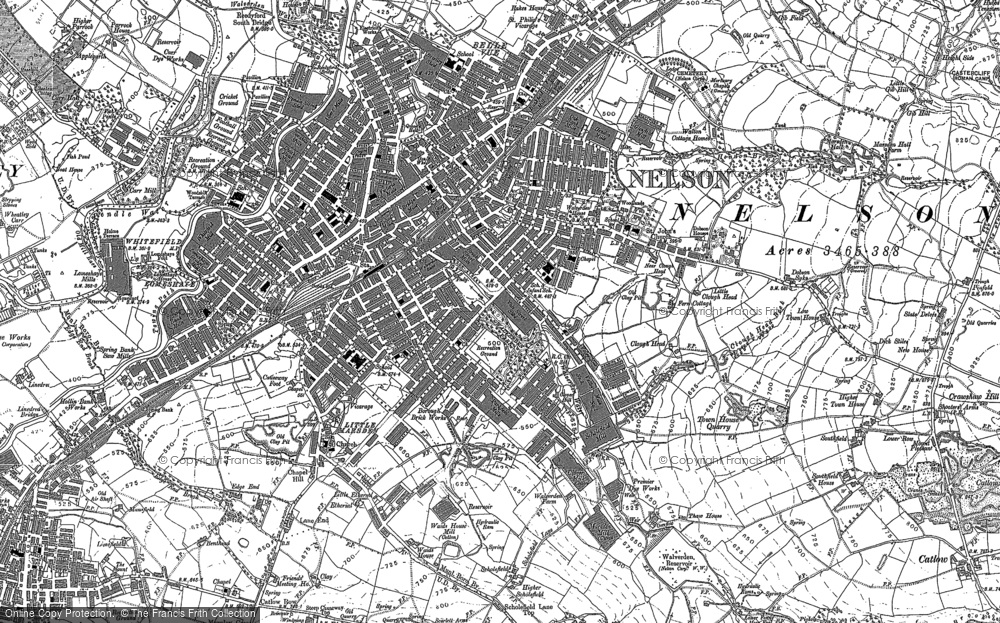 Old Maps of Nelson Francis Frith