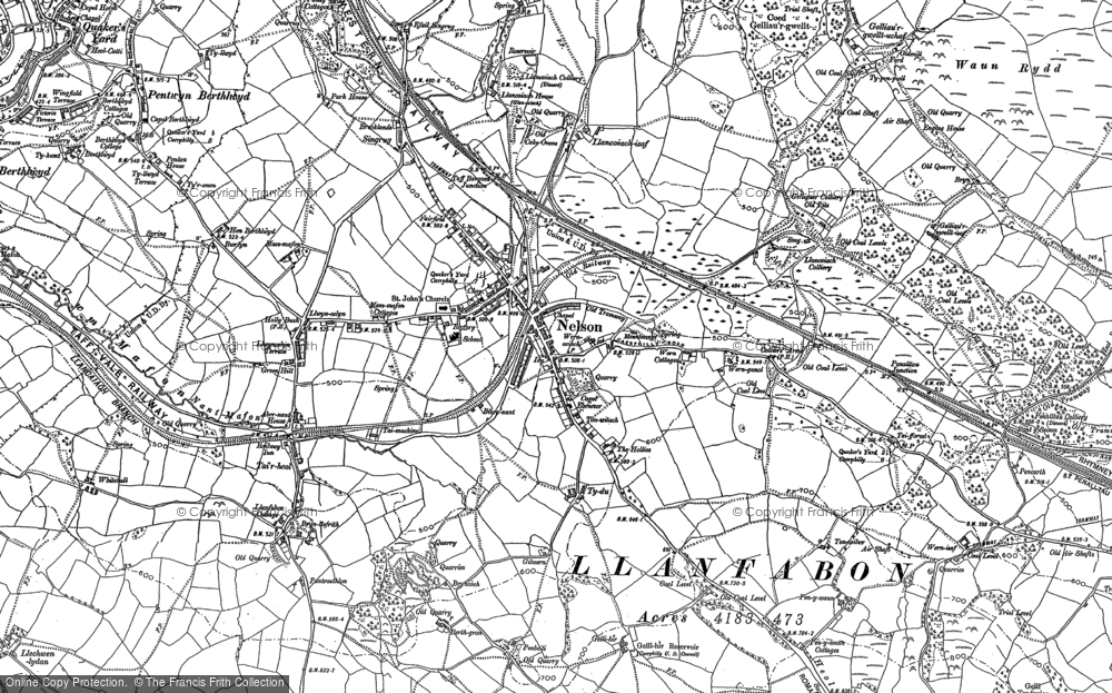 Map of Nelson, 1898