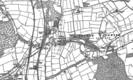 Old Map of Nether Langwith, 1885 - 1886
