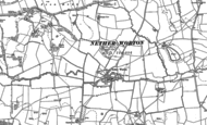 Old Map of Nether Worton, 1898