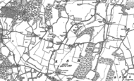 Old Map of New Ash Green, 1895