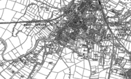 Old Map of Newark-on-Trent, 1884 - 1899