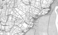 Old Map of Newbiggin, 1910 - 1911