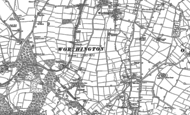 Old Map of Newbold, 1901