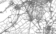 Old Map of Newbold-on-Stour, 1885 - 1900