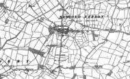 Old Map of Newbold Verdon, 1885