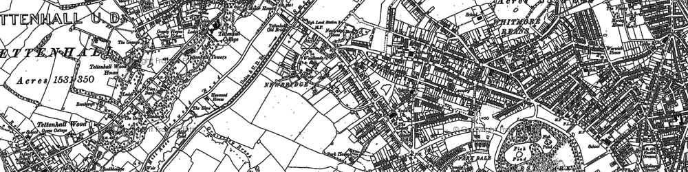 Old map of West Park in 1886