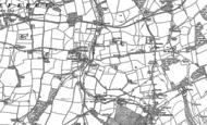 Old Map of Newbridge, 1907