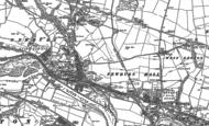 Old Map of Newburn, 1894 - 1895